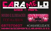 Logo Disco-Movil Caramelo