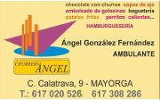 Logo Churreria Angel