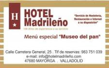 Logo Hotel Madrileño