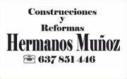 Logo Construcciones y Reformas Hermanos Muñoz Fernández