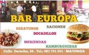 Logo Bar Europa