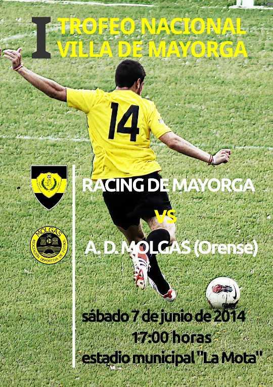 Cartel del I trofeo Nacional Villa de Mayorga