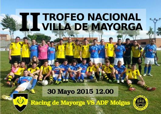 cartel racing II trofeo nacional villa de Mayorga